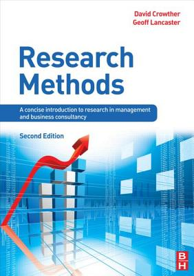 Research Methods By Crowther, David/ Lancaster, Geoff
